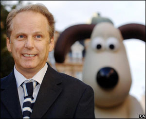 Nick Parks and Gromit at UK opening