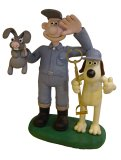 Wallace & Gromit Talking Garden Figurine
