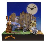 Wallace & Gromit Tottington Hall 3D Talking Alarm